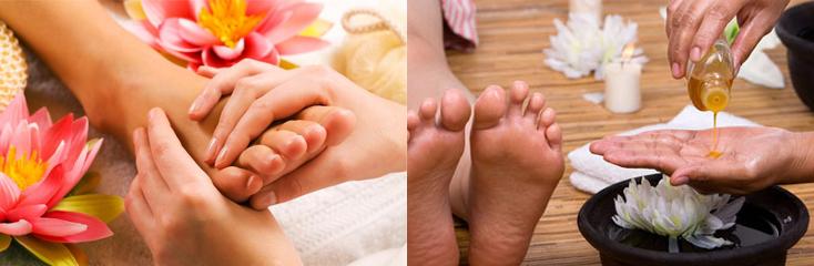 voetmassage padabhyanga
