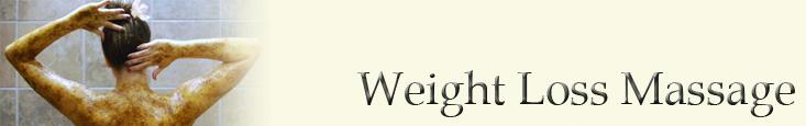 Weight loss Massage Banner