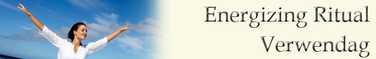 Energizing ritual verwendag banner